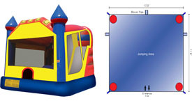 Want to rent a Castle Combo Unit? Click Here!