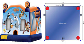 Want to rent a Loony Toons  Combo Unit? Click Here!