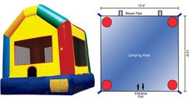 Want to rent a Fun House? Click Here!