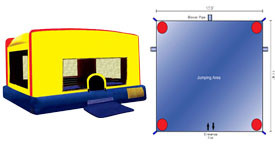 Want to rent an Indoor Bounce House? Click Here!