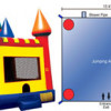 Want to rent a Medium Castle Bounce House? Click Here!