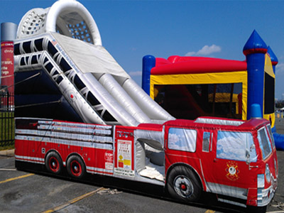Fire Truck Slide Philadelphia Bounce House Rentals Moon Bounce - Wiring Diagram