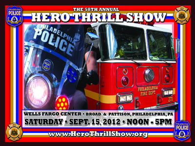 2012 Hero Thrill Show Poster