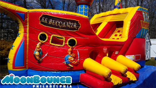 Pirate Moon Bounce
