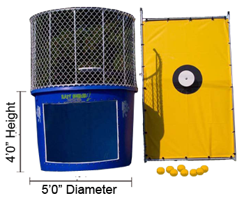 Dimensions of Dunk Tank