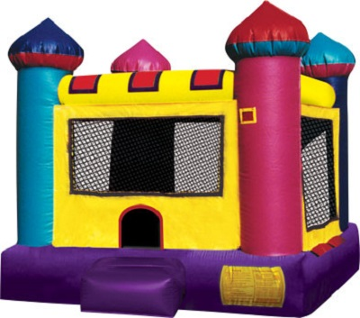 Mini Castle Moon Bounce