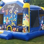 Castle Bounce House & Slide Combo