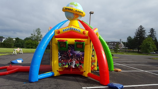 Inflatable Basketball Blow Up Rental