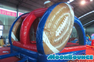 Inflatable Football Throw Rental