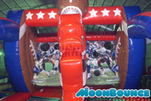 Inflatable Football Throw Game