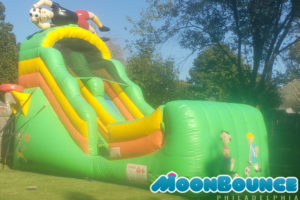 inflatable sports slides