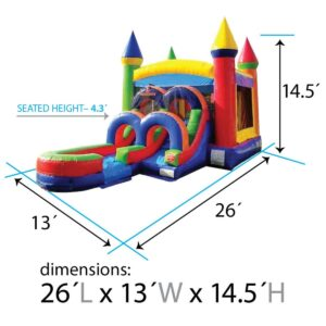 Schematics - Kids Modern Rainbow Wet or Dry Combo