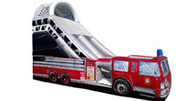 Want to rent a Fire Truck Slide? Click Here!